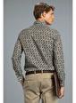 Lufian Erkek Slim Fit Rento Smart Gömlek 25039 Haki